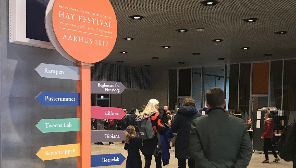 GigantPrint - Totalløsning til Hay Festival i Aarhus